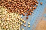 buckwheat groats and roasted kasha - 240774415