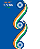 happy republic day of india illustration vector