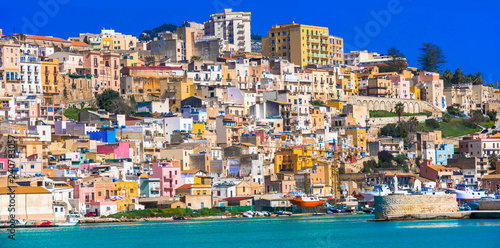Colorful towns of Italy - charming Sciacca in Sicily