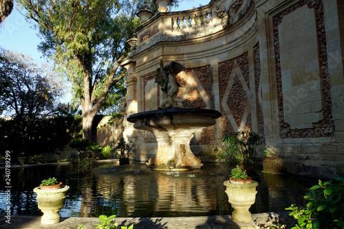 Springbrunnen im San Anton Garten