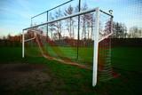 Voetbal gool doel