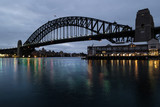 sydney harbour bridge at dawn © Tim