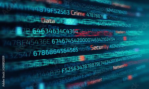 Cyber attack concept - 240812059