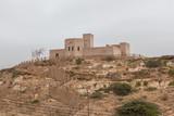 Fort on hill in Taqah, near Salalah, Dhofar Province, Oman - 240834854