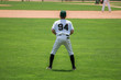 Baseball player from behind