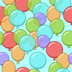 vector wallpapers from different colors of balloons © Mosaic