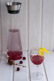 Detox Aromawasser mit Cranberry