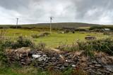 Scenic rural farm in the republic of Ireland