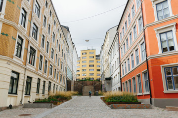 Street in Oslo, Norway