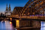 Köln Dom Hohenzollernbrücke