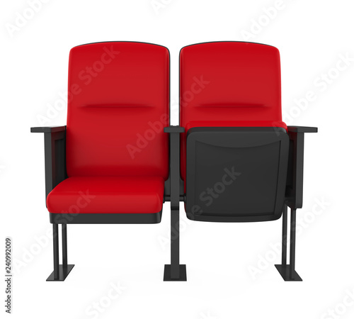 Stadium Seats Isolated