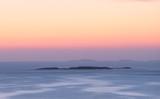 Golden north sky after sunset, Bohuslän, Sweden. - 241010272