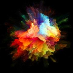 Visualization of Color Splash Explosion © agsandrew