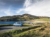 Campervan Surfbus in Sligo County Donegall am Wild Atlantic Highway
