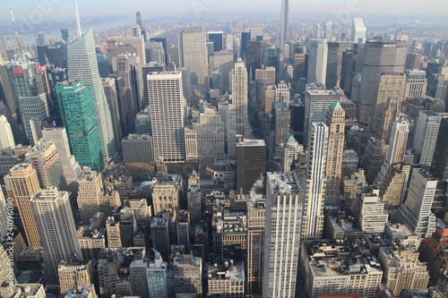 New York von Oben - Skyline Manhattan