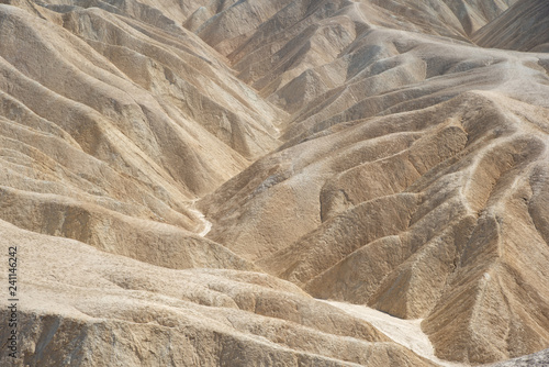 Sand Dunes at Zabriskie Point in Death Valley NP