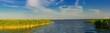 Leinwanddruck Bild - Panorama National Park Vorpommersche Boddenlandscape