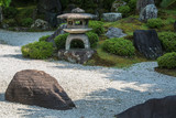 Beautiful japanese stone garden - 241148047