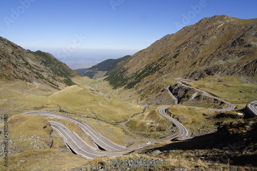 Góry w Rumunii trasa transfogarska