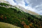 Herbstliche Alpenlandschaft