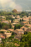 Traditional village in the Toulon region, in the south of France. - 241167618