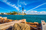 Lighthouse and Waterway near Fort Lauderdale, Florida, USA - 241168044