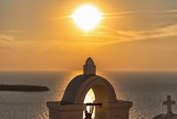 Oia village at the sunset - Aegean sea - Santorini island - Greece - 241173297