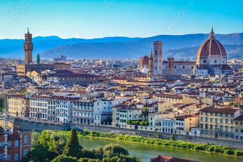 Leinwanddruck Bild Florence, Tuscany, Italy