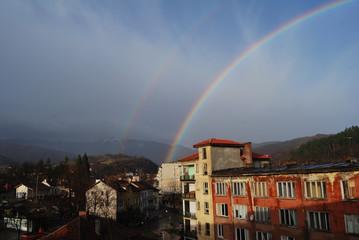 Rainbow in Berkovitsa