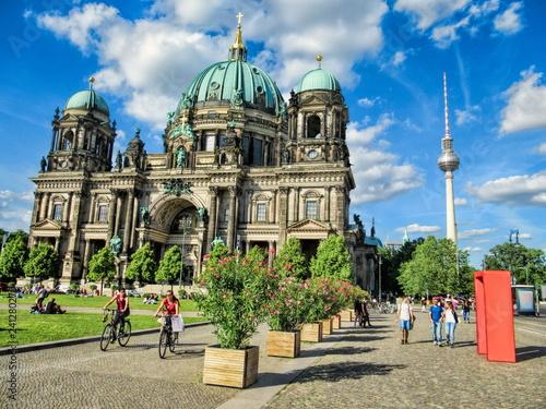 Leinwanddruck Bild Berlin