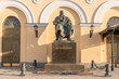 Moscow. Monument to dramatist Ostrovsky