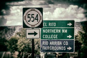 Panorami del New Mexico (USA)