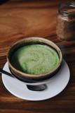 Matcha tea with vegan coconut milk - 241296001