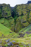 Raudfeldar Canyon at Snaefellsnes in Iceland