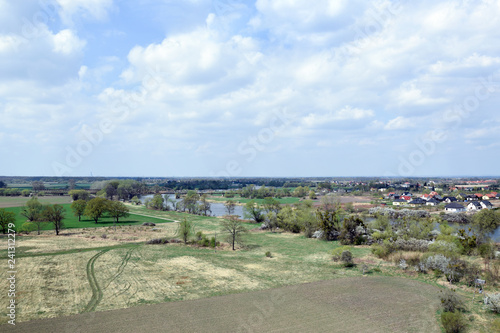 Aerial view on