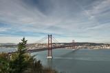 The famous 25th April Bridge in Lisbon, Portugal - 241321666