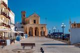 Santa Maria del Canneto church in Gallipoli, religious landmark architecture of the city in Italy