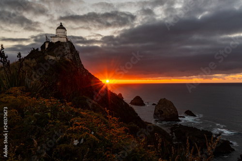 A Beautiful and Stunning New Zealand Landscape - Nugget Point, New Zealand