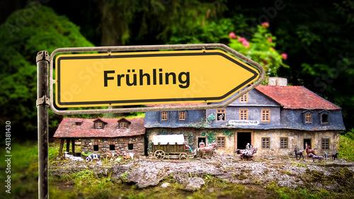 Schild 369 - Frühling - 241381430