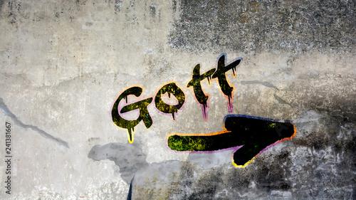 Schild 399 - Gott