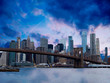 New York Manhattan skyline panorama