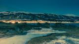 Complètement à l'ouest de l'île de Tromsø !