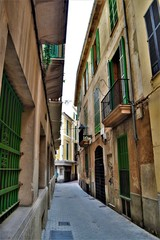 Gasse in Spanien