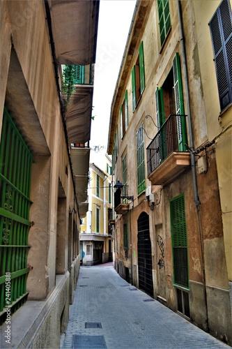 Gasse in Spanien - 241405881