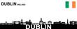 Dublin Silhouette - 241414822