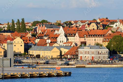 Blick auf Visby auf Gotland - 241415425