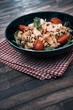 Fresh chicken salad with tomatoes - 241423683