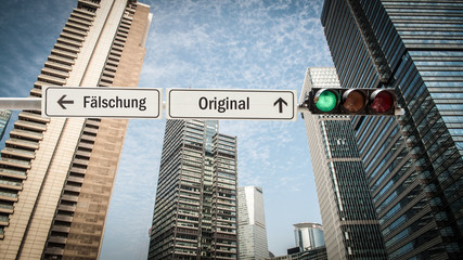Schild 393 - Original © Thomas Reimer