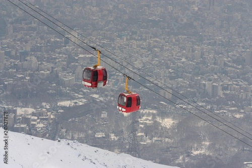 mata magnetyczna Tochal, Téhéran