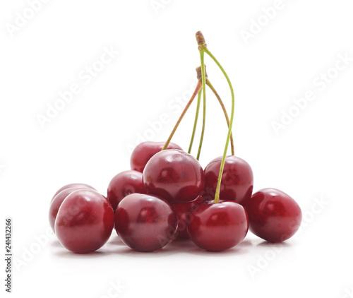 Ripe ред cherries.